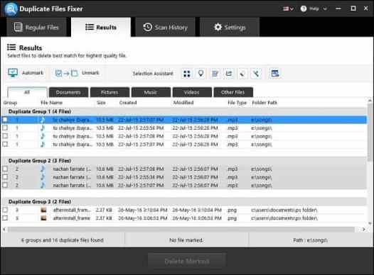 Duplicate Files Fixer Pro