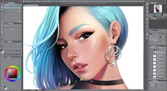 Clip Studio Paint 1.10.6 Crack + Serial Key 2021 [Latest]