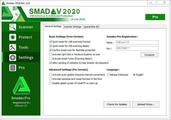 Smadav Pro 13.9.2 Crack + Serial Key Free Download 2020 {Latest]}
