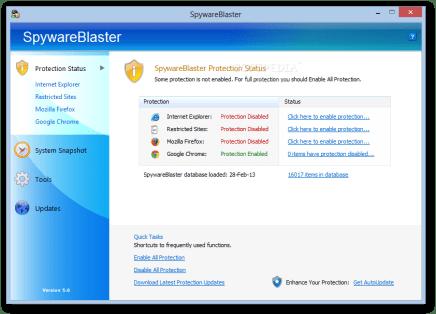 SpywareBlaster 6.0 Crack + Serial Key Free Download 2021