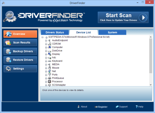 DriverFinder Pro 4.1.0 Crack + License Key Latest Version 2021