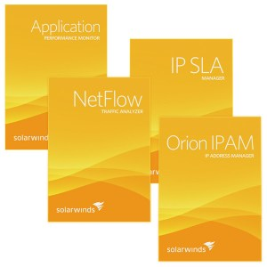 SolarWinds Orion Modules – NTA, APM, IPAM, IP SLA