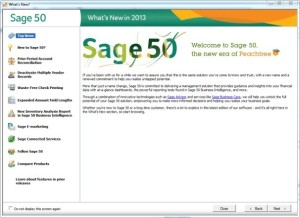 Sage 50 Accounts Professional 2013