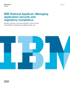Ibm rational appscan 8