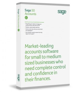 Sage 50 Accounts Professional 2014 with one user,company and location