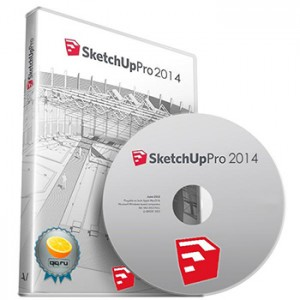 SketchUP Pro 14.1.1282(Cracked files MPT)[MDA]