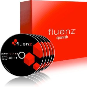 Learn Spanish Fluenz Spanish (Latin America) 1+2+3+4+5 with supplemental Audio CDs and Podcasts