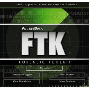 FTK-Forensic Toolkit