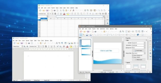 LibreOffice review 2020 and libreoffice download