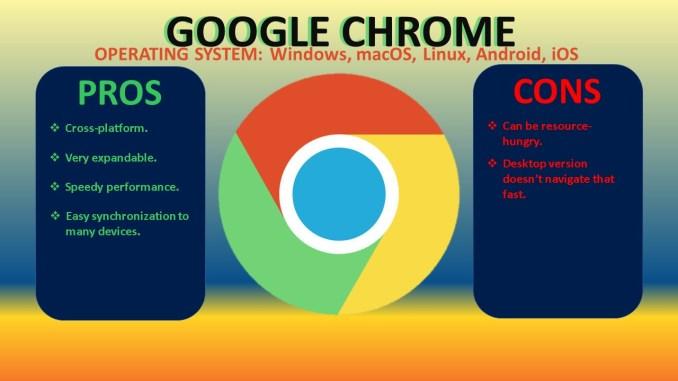 Chrome pros and cons