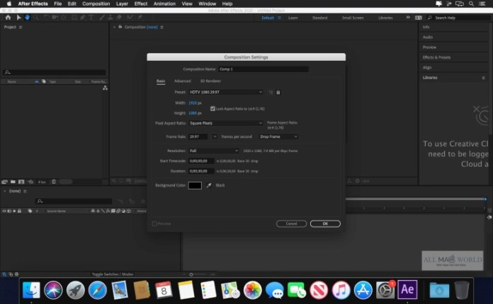 Adobe After Effects CC 2021 17.6 Full + Crack
