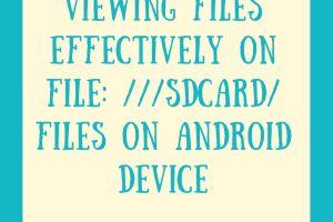 file-sdcard