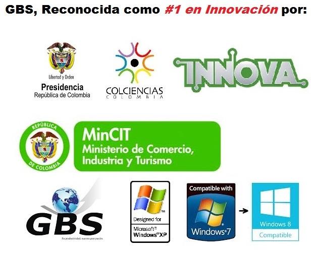 GBS La Casa Colombiana de Software Innovadora Logos
