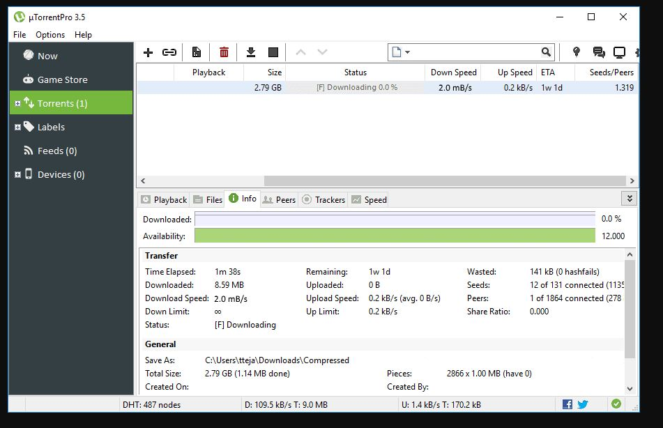 uTorrent Pro 3.5.5 Crack full download