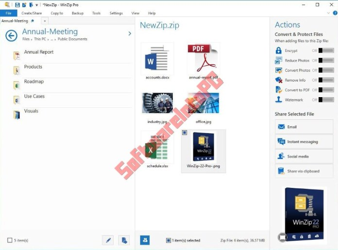 WinZip Pro 25 With Crack Free Download
