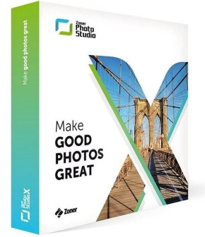 Zoner Photo Studio X 2019 Free Download