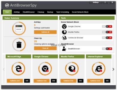 AntiBrowserSpy Pro