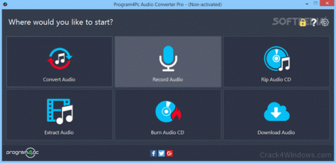 Program4Pc Audio Converter