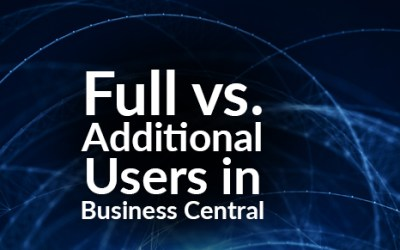 Full vs. Additional Users in Business Central