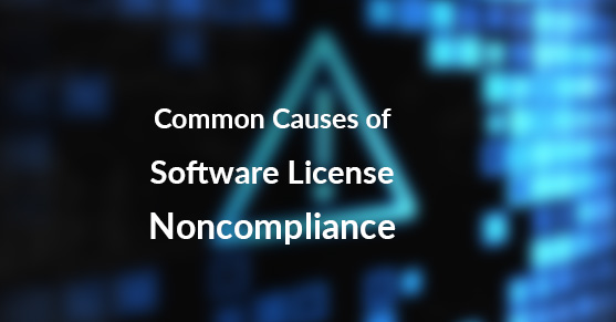 Common Causes of Software License Noncompliance