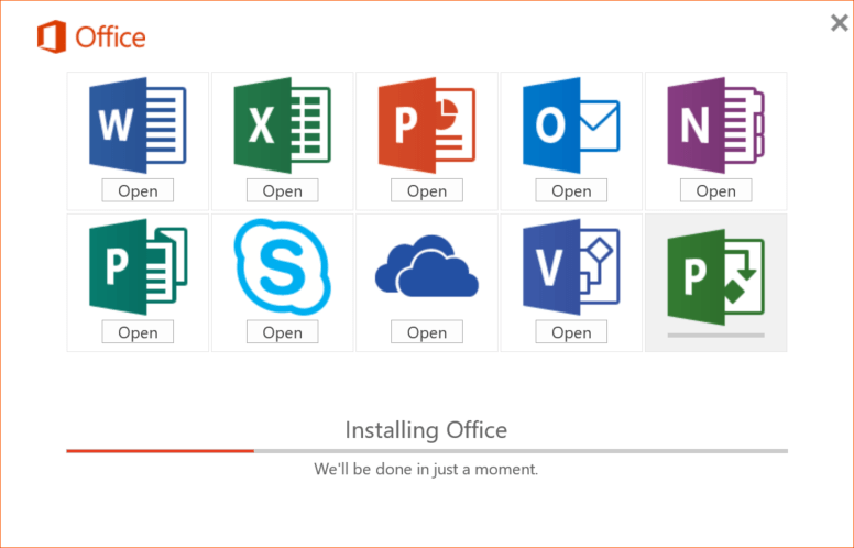 Microsoft Office 365 Pro Plus installation