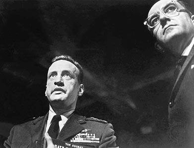 """""""Sir, you can't let him in here. He'll see everything. He'll see the big board!""""- General """"Buck"""" Turgenson"""