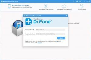 Wondershare Dr Fone 2018