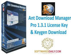 Ant Download Manager Pro 1.3.1 License Key & Keygen