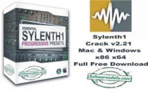 Sylenth1 Crack v2.21 Mac & Windows x86 x64 Full Free Download