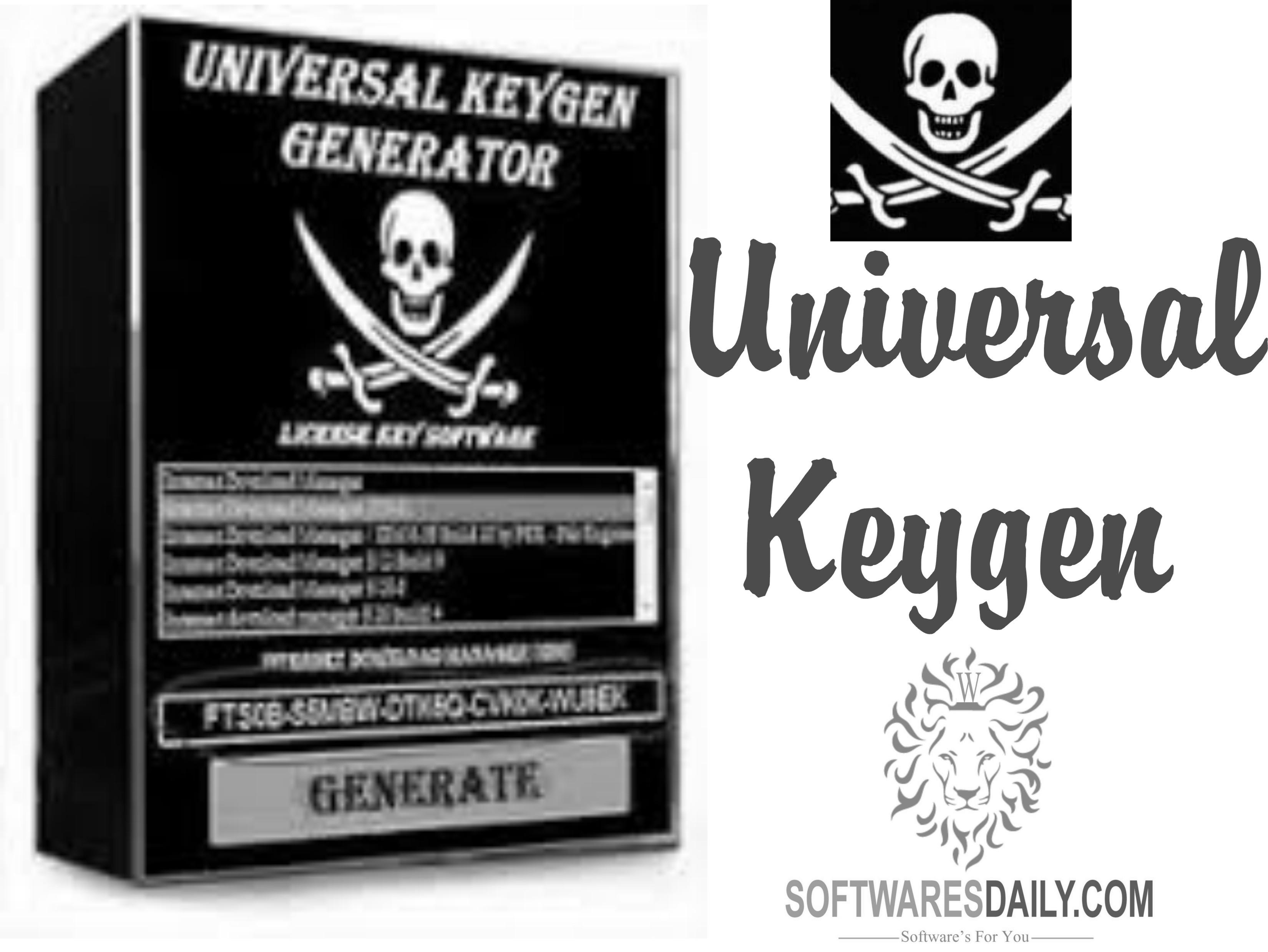 universal keygen generator official site
