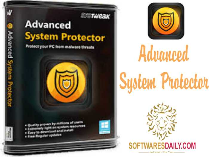 Advanced System Protector 2017 Crack Keys Full Download