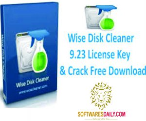 Wise Disk Cleaner 9.23 License Key & Crack Free Download