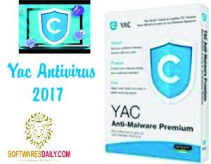YAC Antivirus 2017 Crack with Serial Key Activator Full Version Free Download