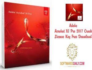 Adobe Acrobat XI Pro 2017 Crack License Key Free Download