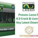 Process Lasso Pro 8.9 Crack & License Key Latest Download