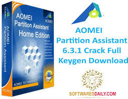 AOMEI Partition Assistant 6.3.1 Crack Full Keygen Download