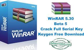 WinRAR 5.30 Beta 5 Crack Full Serial Key Keygen Free Download