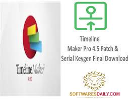 Timeline Maker Pro 4.5 Patch & Serial Keygen Final Download