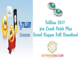 Trillian 2017 pro Crack Patch Plus Serial Keygen Full Download