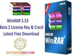 WinRAR 5.53 Beta 2 License Key & Crack Latest Free Download