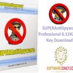 SUPERAntiSpyware Professional 6.1242 Crack Key Download