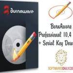 BurnAware Professional 10.4 Crack + Serial Key Download