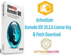 ActiveState Komodo IDE 10.2.6 License Key & Patch Download