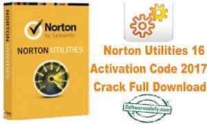 Norton Utilities 16 Activation Code 2017 Crack Full Download