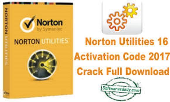 Norton Utilities 16 Activation Code 2017 Crack Full Download