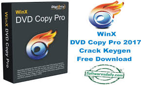 WinX DVD Copy Pro 2017 Crack Keygen Free Download