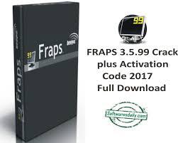 FRAPS 3.5.99 Crack plus Activation Code 2017 Full Download