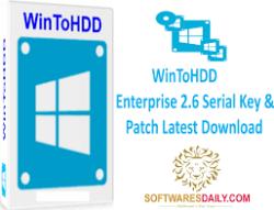 WinToHDD Enterprise 2.6 Serial Key & Patch Latest Download