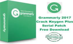 Grammarly 2017 Crack Keygen Plus Serial Patch Free Download