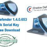 Shadow Defender 1.4.0.653 Crack Serial Key Full Free Download